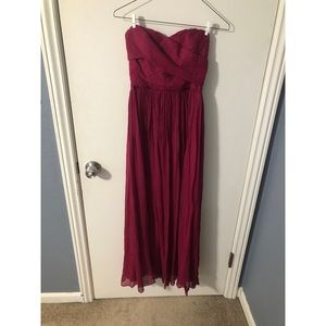 Jcrew strapless dress